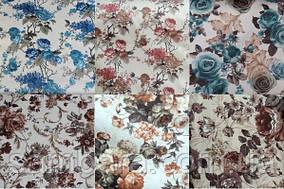 Мебельная ткань велюр Нирвана