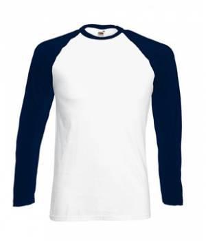 Мужская футболка с длинным рукавом 028-WE-В88 fruit of the loom