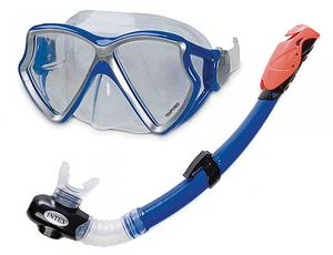 Набор для плавания  Aviator Pro Intex  для ныряния дайвинга  снорглинга  для детей с 8 лет