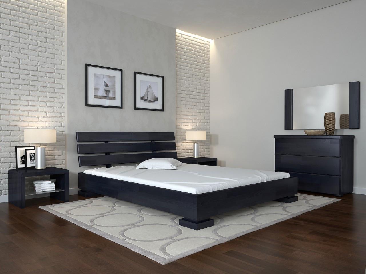 Деревянная кровать Премьер 120х190 см ТМ Arbor Drev
