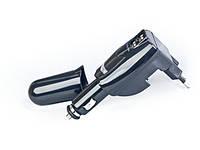 Автомобильное зарядное устройство Gembird, 2xUSB, 1.0A (MP3A-UC-ACCAR) Black автозарядка для телефона, автомобильная зарядка в прикуриватель
