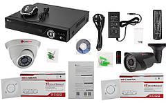Комплект IP видеонаблюдения NVR-KIT2104 - 1 indoor-outdoor