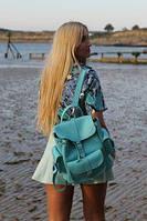 Женские городские рюкзаки из эко-кожи и ткани