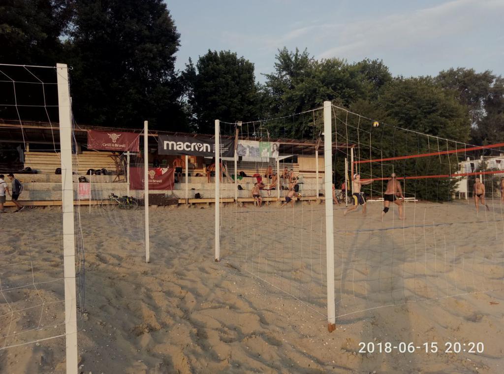 Заградительная сетка для пляжного волейбола