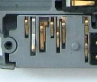 Коннектор зарядки и гарнитуры для Nokia 1100 RH-18, (Б/У, снято с разборки)