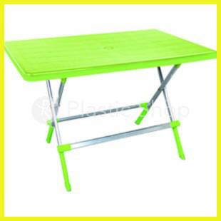 Складной стол с алюмин. ножками