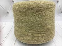 Итальянская пряжа BABY SURY Br.( желто-зеленый) Альпака 90%, па 10%  950  м./100 гр.