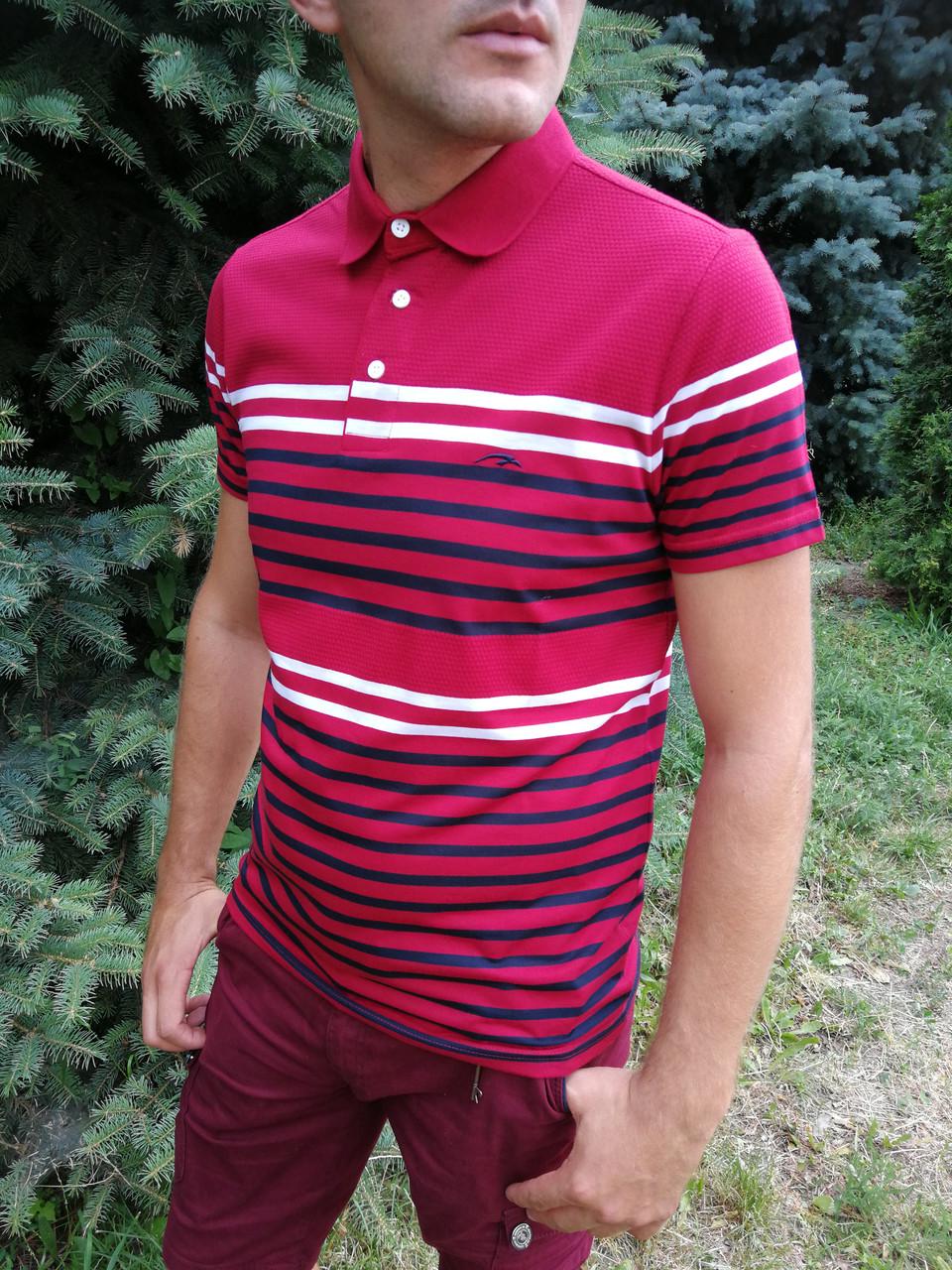 Стильная мужская футболка маратон