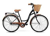 Женский городской велосипед GOETZE 28 3biegi корзина бесплатно! Цвет - чорний, фото 1