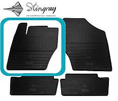 Citroen DS4 2011- Водительский коврик Черный в салон