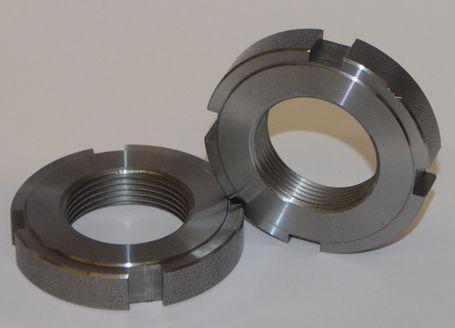 Гайка круглая шлицевая М58х1,5 DIN 1804 из нержавейки