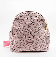 Розовый женский рюкзак из экокожи NNH-109825, фото 1