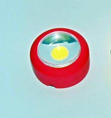 Нічник аварійний світильник круглий
