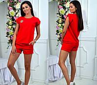 Костюм женский футболка и шорты  вкн0023, фото 1