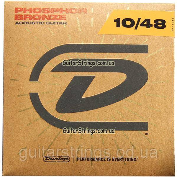 Струны Dunlop DAP1048 Acoustic Phosphor Bronze 10-48