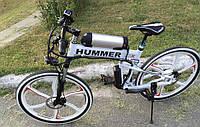 Электровелосипед HUMMER ELECTROBIKE FOLDABLE (белый, складной)