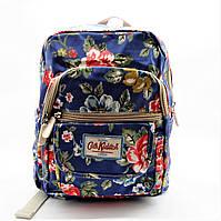 Прекрасный женский рюкзак из экокожи синего цвета RRR-104012, фото 1