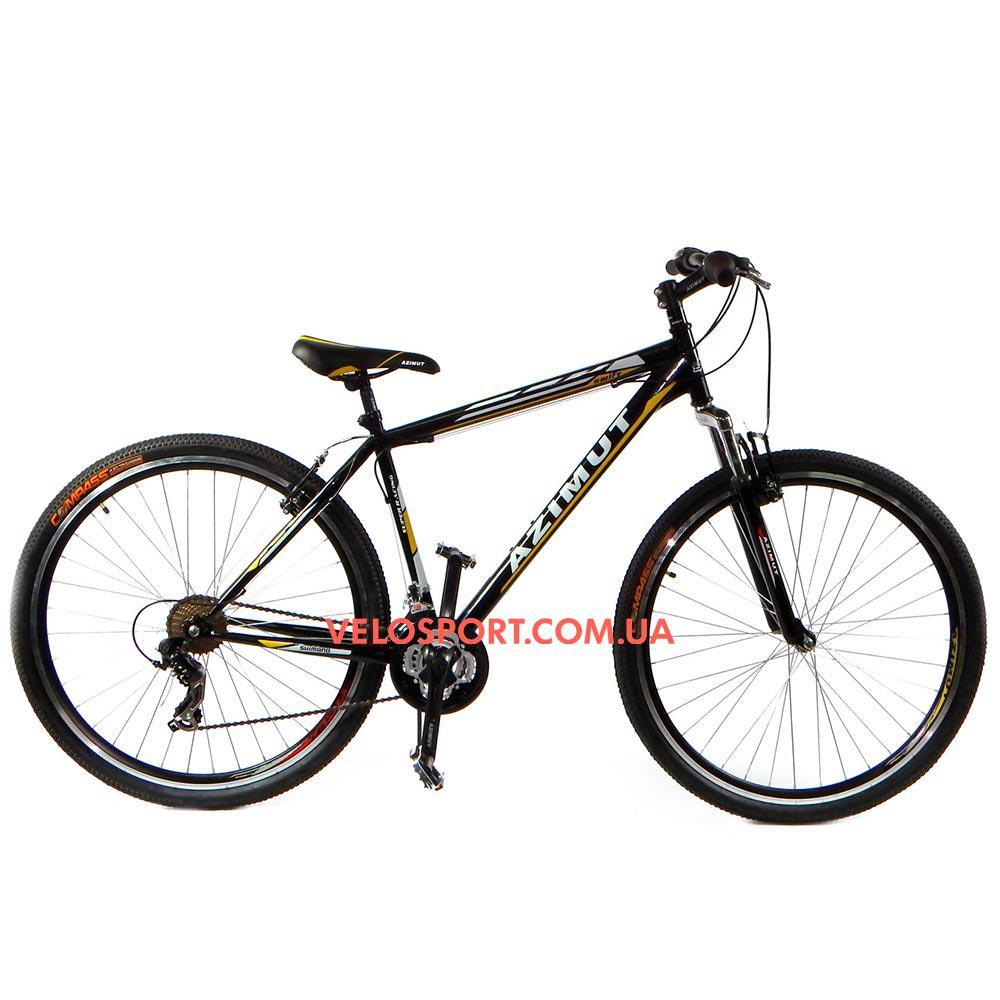 Горный велосипед Azimut Swift 29 GV черно-желтый