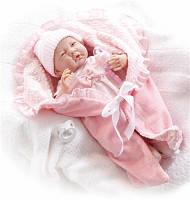 Большая кукла пупс Малютка в розовом конверте Berenguer 18780 38 см