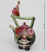 Заварочный чайник фарфоровый Птичка