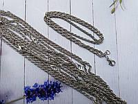 Цепочка сталь 47 см (толщина 2,5 мм)