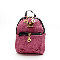 Миниатюрный женский рюкзак розового цвета ТOP-090063 mini, фото 1