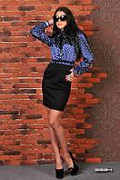 Платье черный низ атласный верх, фото 1