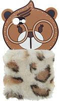 Чехол-накладка TOTO TPU Fluffy Case IPhone 7/8 Bear Brown, фото 1