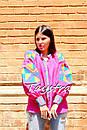 Блузка вышиванка этно стиль, Bohemian, яркая вышитая блуза, фото 3