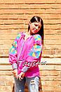 Блузка вышиванка этно стиль, Bohemian, яркая вышитая блуза, фото 4