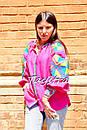 Блузка вышиванка этно стиль, Bohemian, яркая вышитая блуза, фото 5