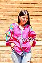 Блузка вышиванка этно стиль, Bohemian, яркая вышитая блуза, фото 7