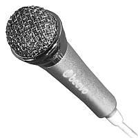 Микрофон BEEVO BV-M8 серебристый чувствительный 100 - 10 Hz вокал компьютера ноутбука смартфона направленный