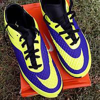 Бутсы сороконожки Nike подростковые, фото 1
