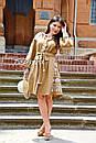 Вышитое платье лен, вишите плаття вишиванка, украинское платье с вышивкой, фото 9