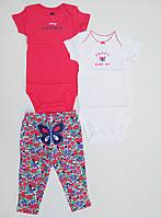Детский комплект из 3-х вещей Carters для девочки