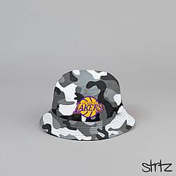 Панама LA Lakers камуфляжного цвета  (люкс копия)