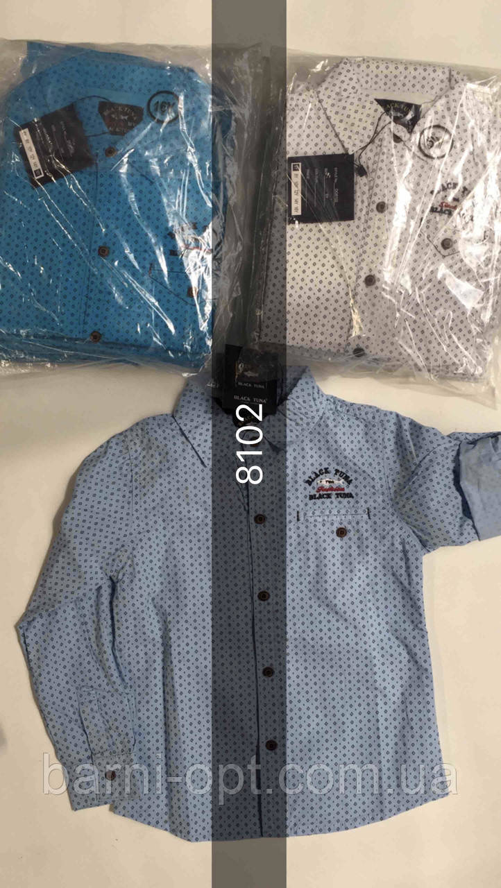 Рубашки на мальчика оптом, Setty Koop, 6-16 рр