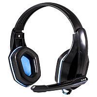 Гарнитура накладная OVANN X1-S синяя с микрофоном проводная для ноутбука  компьютера игровая e13708f705db6