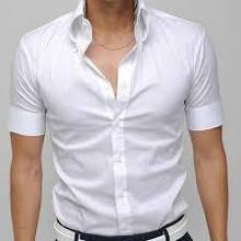 Белые тенниски (рубашки с коротким рукавом)