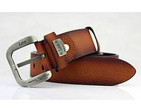 Мужской кожаный ремень Lee (102) brown - Lee, Мужские ремни