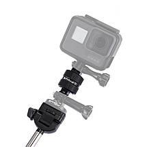 Металлический поворотный адаптер 360° для GoPro, фото 3