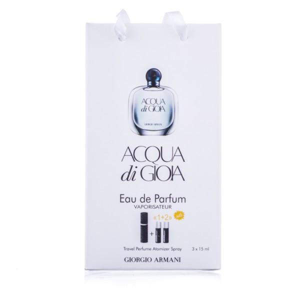 Giorgio Armani Acqua Di Gioia Eau De Parfum 45ml подарочный набор