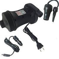 Насос электрический 220/12В для надувных лодок и матрасов Stermay HT-458