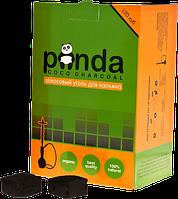 Кокосовый уголь для кальяна Panda Cube Flat Green
