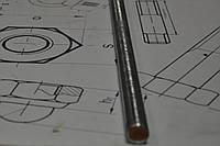 Шпильки резьбовые метровые с левой резьбой M27×1000 DIN 975, класс прочности 8.8