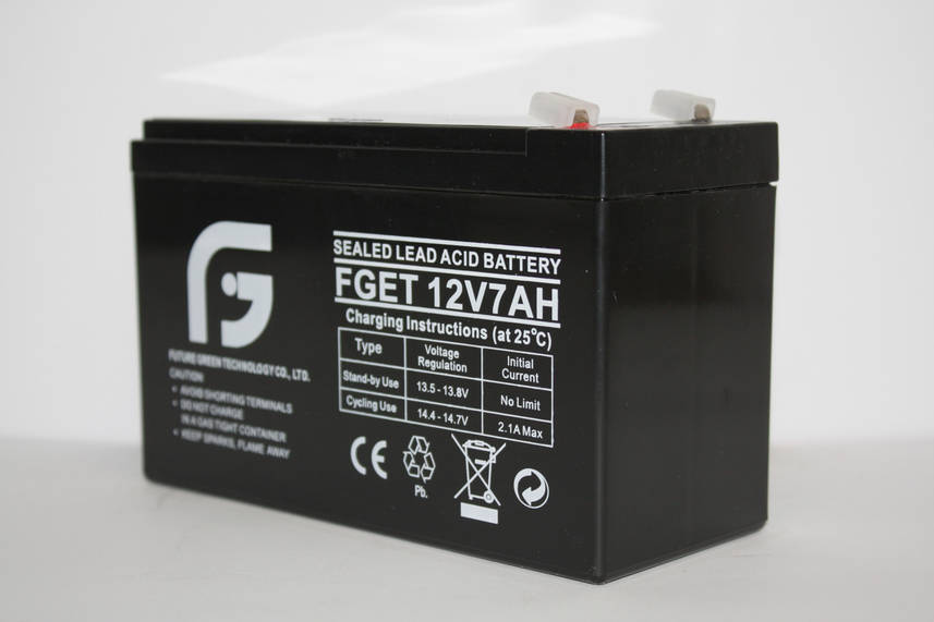Аккумулятор 12В 7А FGET оптом