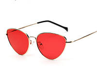 Очки солнцезащитные красные Retro Imidge