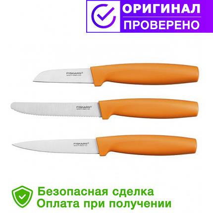 Набор ножей для чистки овощей Fiskars (1014272), фото 2