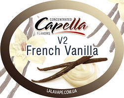 Ароматизатор Capella French Vanilla V2 (Французька ваніль)